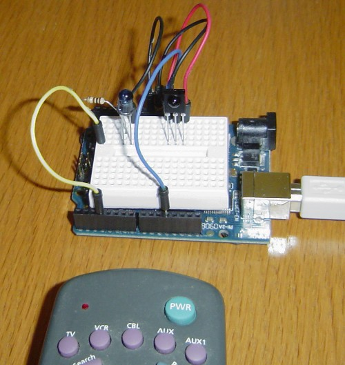 Arduino IR remote